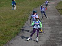 Course de ski-roues skate du CSVR.