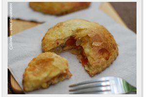 Empanadillas au thon et à la tomate