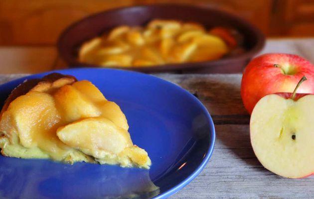 Tarte Briochée aux pommes !