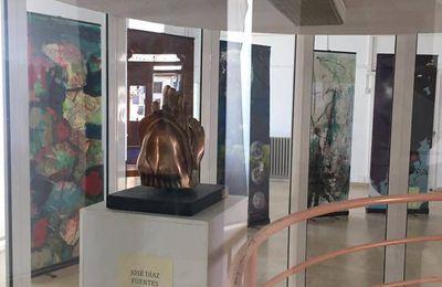 Exposition des travaux réalisés pendant les worshops à la Maison de la Culture de Sarria