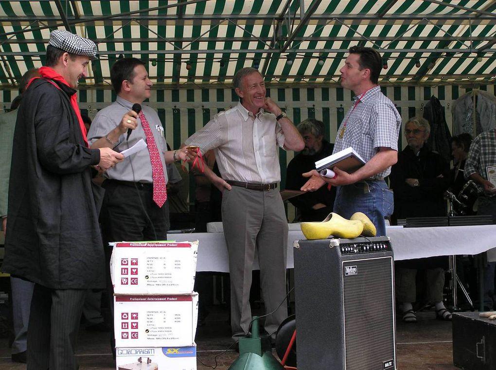 La remise des prix du 28 juillet 2007 à Sainte-Anne de Champfrémont.