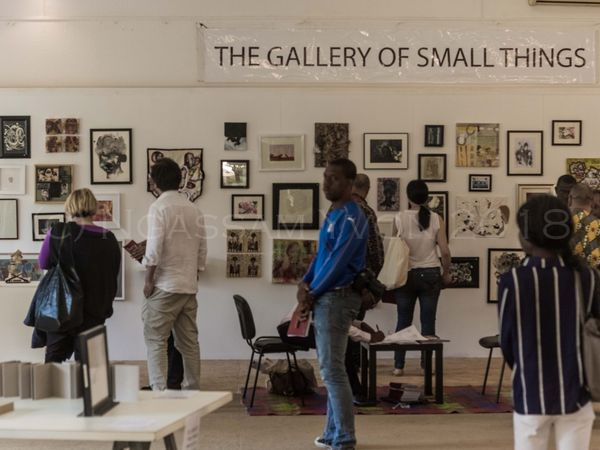 """Gallery of small things a project of curator Olabisi Silva where you could see an excerpt from my series """"HOME"""""""