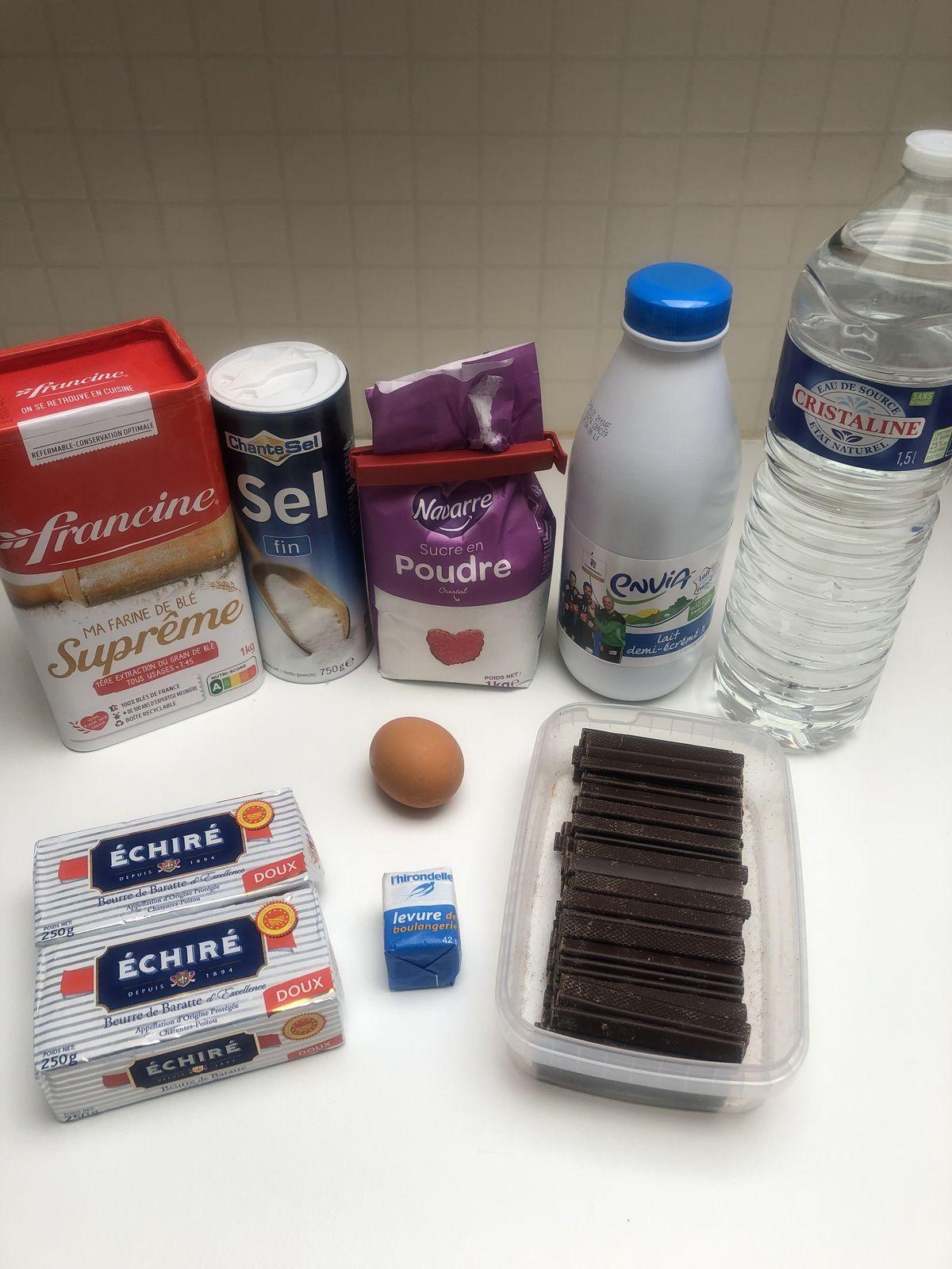 Chocolatines/Pains au chocolat maison