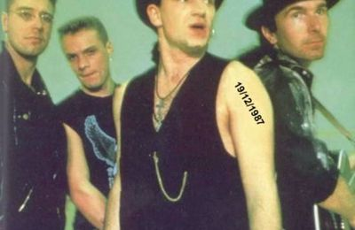 U2 -Joshua Tree Tour -19/12/1987 -Tempe  USA -Sun Devil Stadium #1