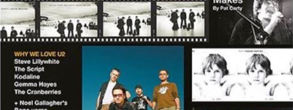 "U2 - Magazine Hot Press ""U2: 80-00-20 special"""