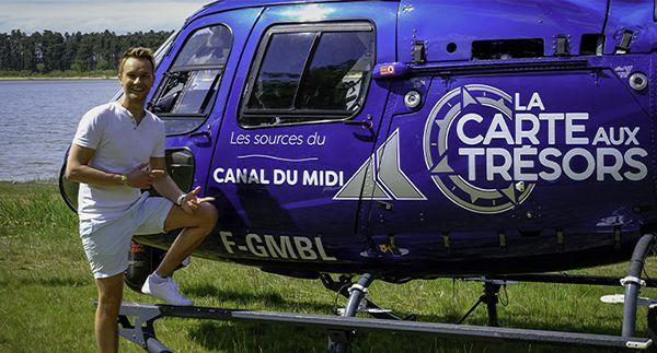 canal midi carte tresor france 3 Cyril Féraud