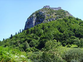 LES CHATEAUX CATHARES : PANORAMA
