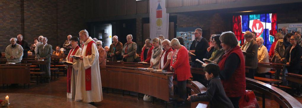 """Frühlingsfest der Veitshöchheimer Sozialstation St. Stephanus stand in der """"Woche für das Leben"""" unter dem Motto """"Alter in Würde"""""""