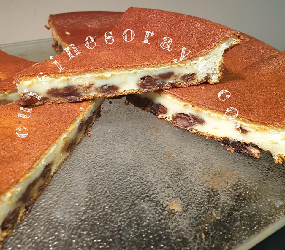Gâteau Skyr aux pépites de chocolat