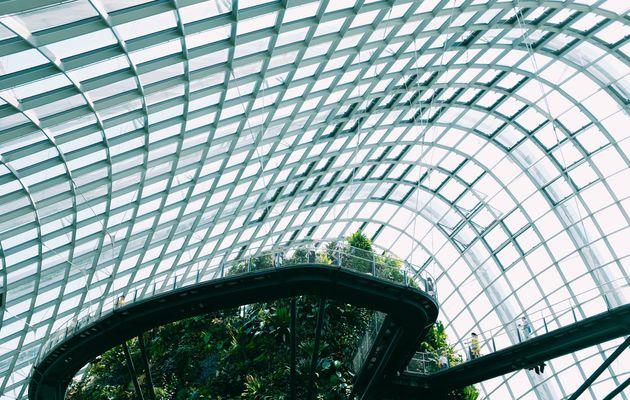 Pensiline in ferro e vetro, il design funzionale
