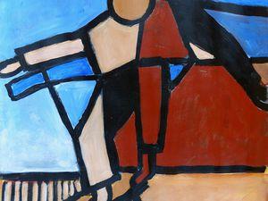 Peintures de : Jeanine Mandille - Joëlle Dampéront