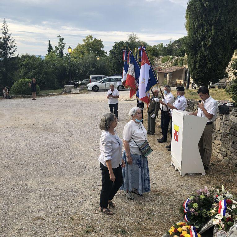 Commémoration du massacre de Barbarenque: Olivier Safon lit le témoignage de Robert Arnaud