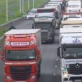 """Loi travail : FO, CGT... CFDT : les routiers embrayent et promettent des """"actions puissantes"""""""