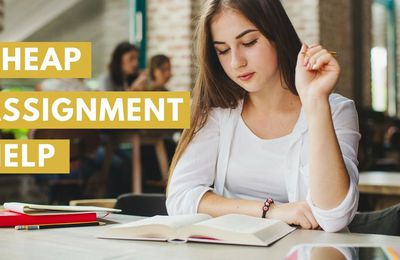 Cheap Online Assignment Writing Help Services - CMA
