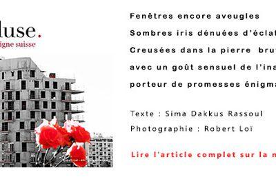 Rencontre entre photographie et poésie