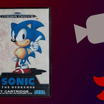 Petit unboxing de Sonic the Hedgehog sur MegaDrive