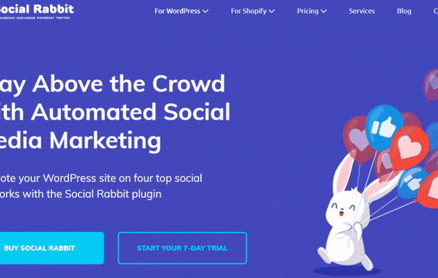Social Media Plugin for Auto-Running Social Accounts 24/7 With Social Rabbit