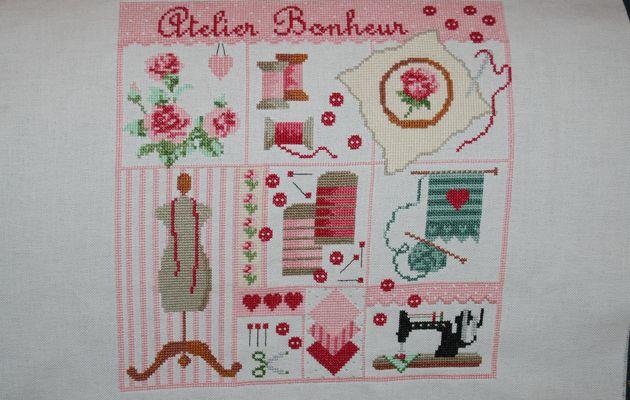 """Mon """"Atelier Bonheur"""" .... terminé !!!"""
