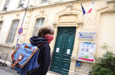 """Écoles : un appel national à """"une grève sanitaire"""" ce mardi 10 novembre"""