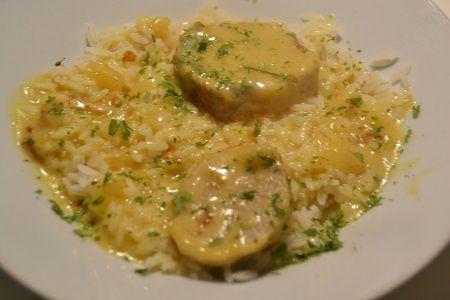 Filet mignon curry cookeo