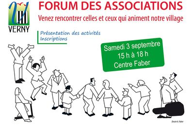 Verny Forum associations le 3 septembre 2016