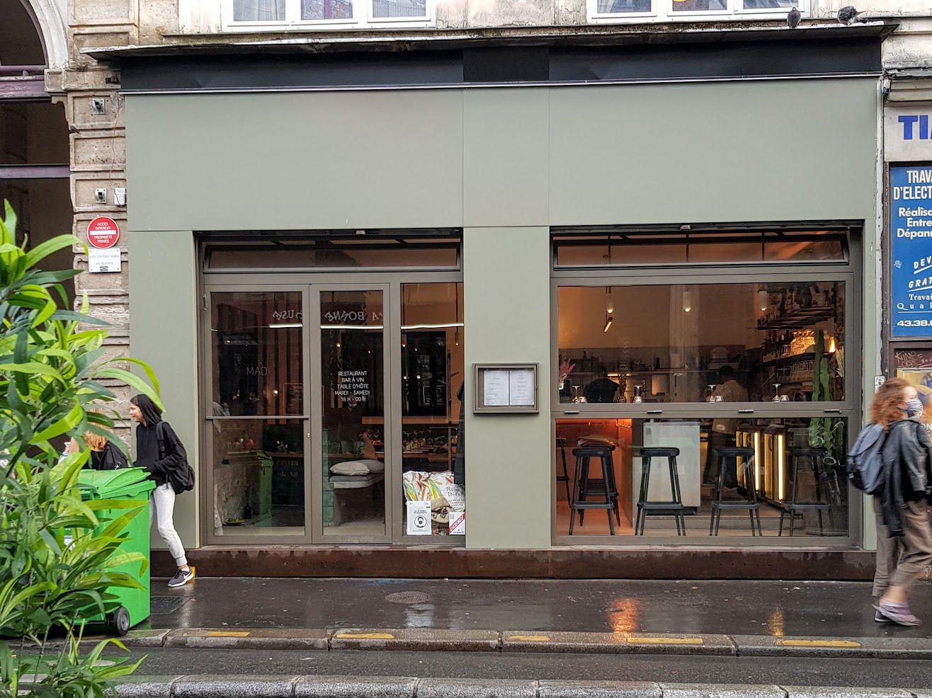 MAD restaurant Paris 11 rue Jean Pierre Timbaud