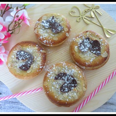 Tartelettes aux amandes et au chocolat