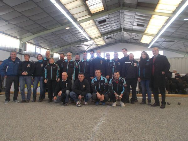 Coupe de France de pétanque ZONE 1, 2014/2015 Pau-Pasteur 18 Fontet 8