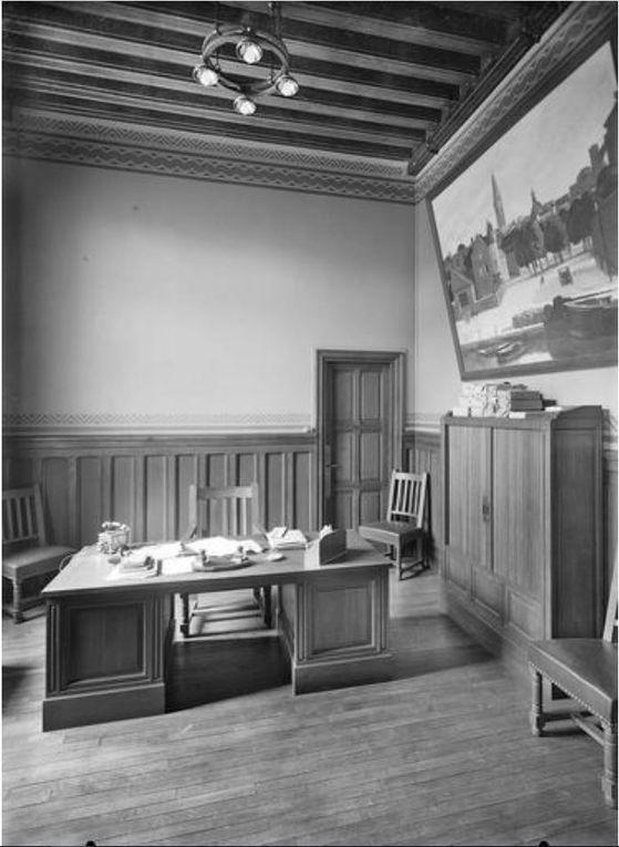 Intérieur (source : Ministère de la Culture, Médiathèque de l'architecture et du patrimoine, dist. RMN-GP)