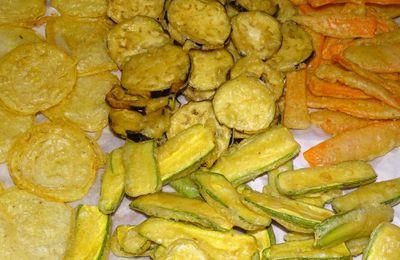 Tempura de légumes - pâte à frire salée pour tout aliment