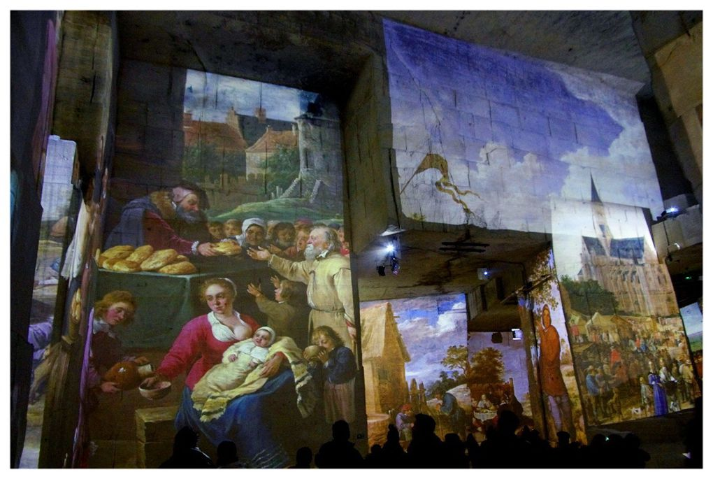 CARRIERES DE LUMIERE (bis) par Claude Bertrand