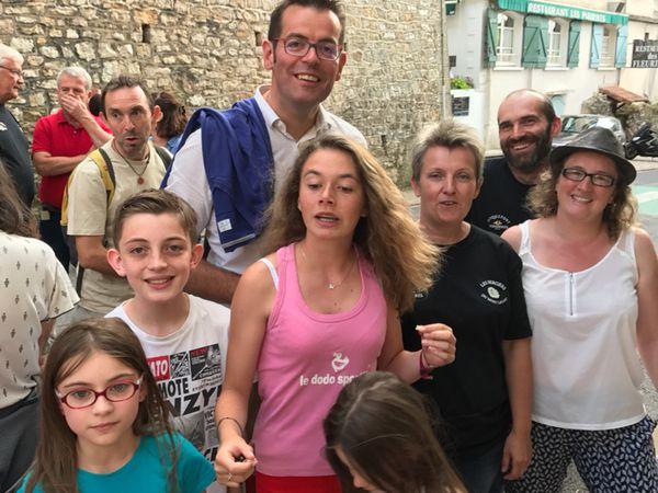 [Roq'brebis] Une première dans les rues de Roquefort