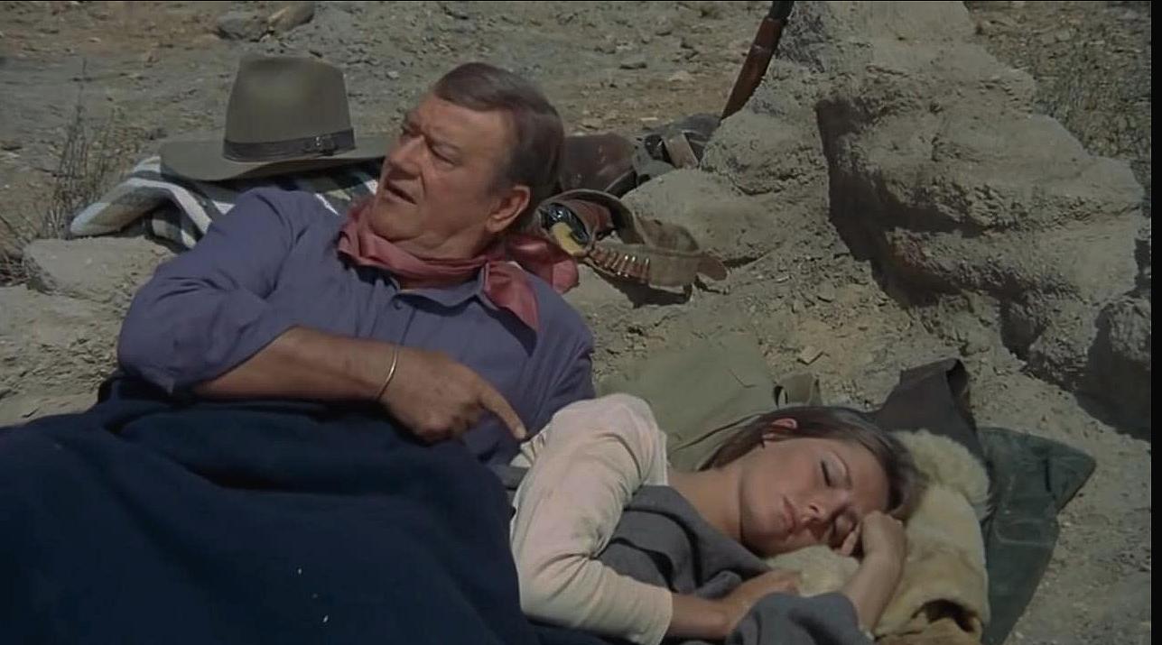 John Wayne n'est pas large des pôles...