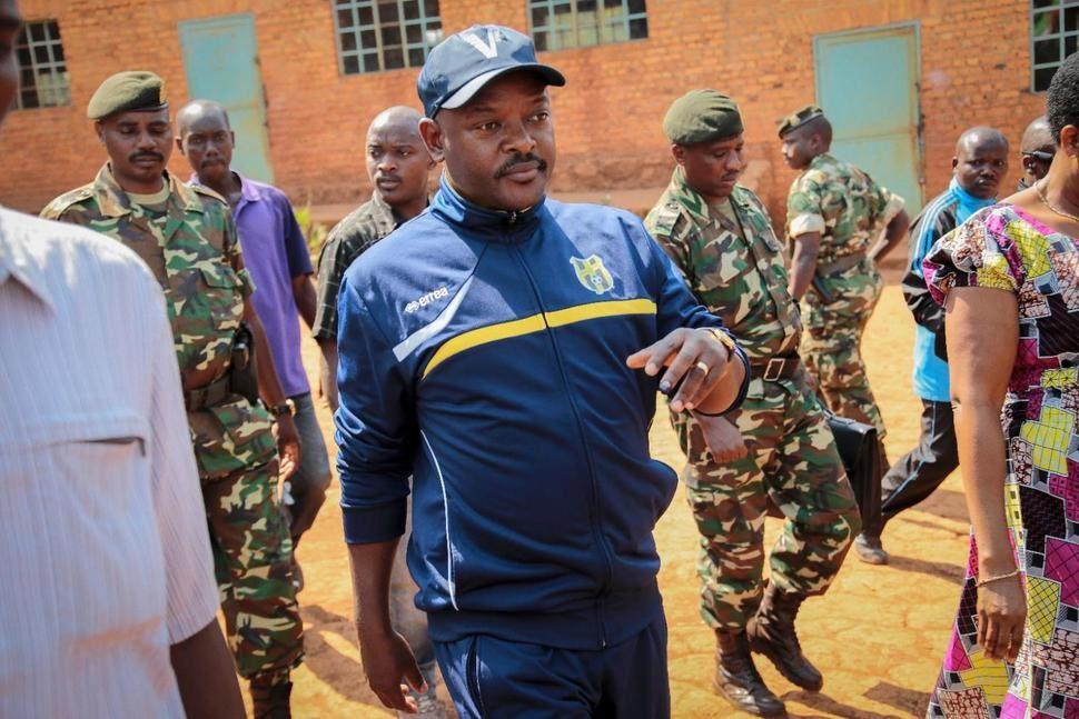 Imágenes del desastre de Pierre Nkurunziza en Burundi.- El Muni.