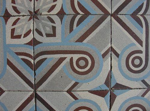 Le plateauexclusif de Thérèse: Carreau de ciment