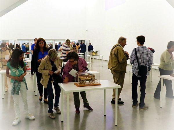 Exposition de maquettes de José Brito au musée des carrosses de Libonne.