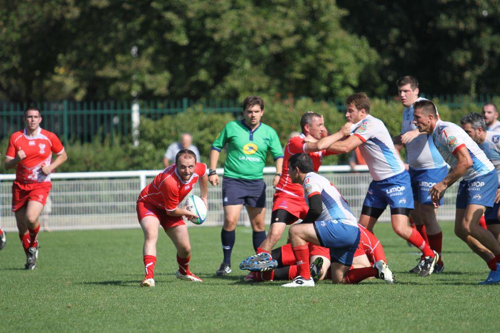 L'US Vénissieux Rugby n'est pas passé loin de sa première victoire