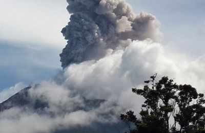 Sinabung and Taal activity and seismic swarm in Reykjanes.