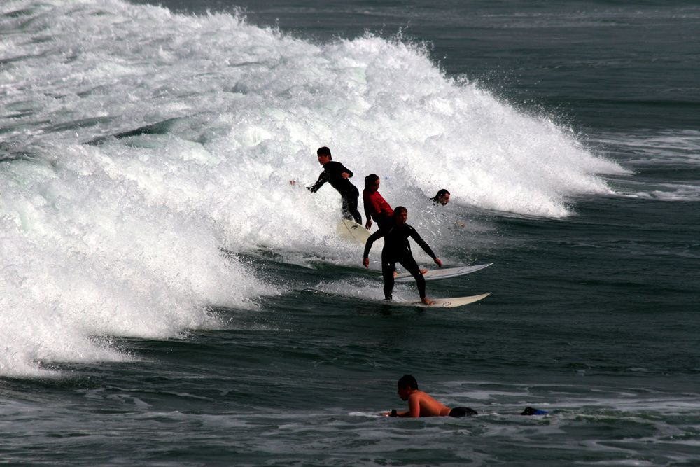 Album - Surf sur la plage de la Torche