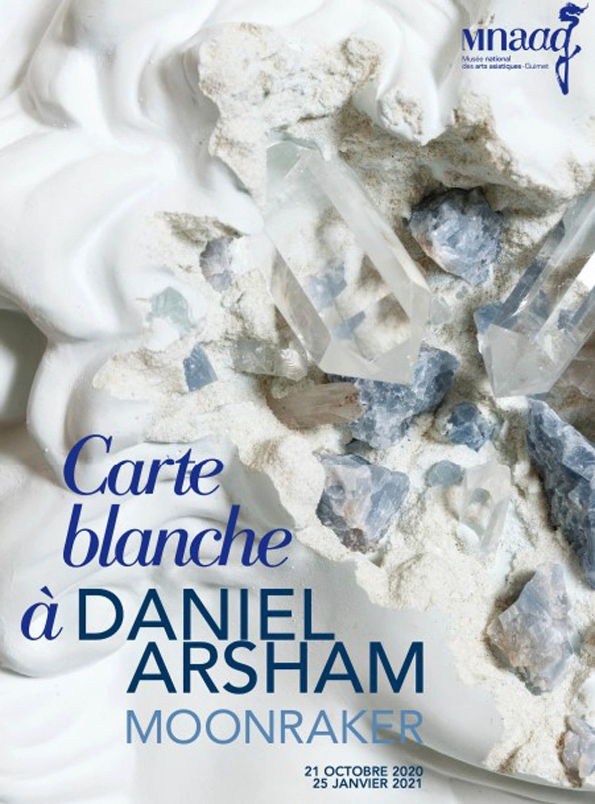 Exposition Sculpture Contemporaine: Daniel ARSHAM «Moonraker»