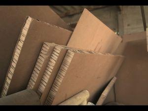 Un Vtc en Carton à 99% recyclable
