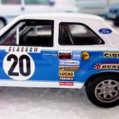 FASCICULE N°75 FORD ESCORT RS 1600 1973 MONTE CARLO - H. MIKKOLA JIM PORTER IXO 1/43. - car-collector.net