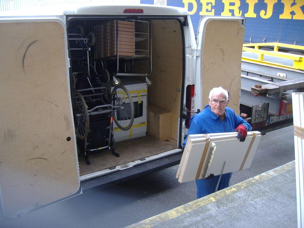 2nd transfert - 3 camions - toute la matinée (envoi no 9)