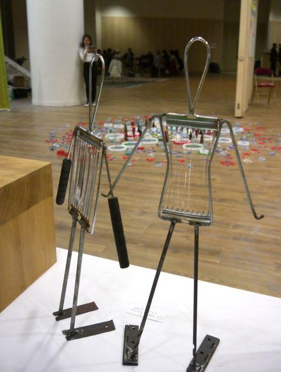 # art et recyclage # exposition art et environnement # art métamorphose # art déchets électroniques # réduction des déchets