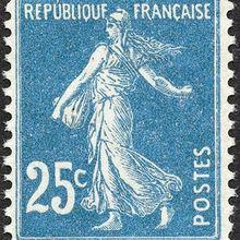 Semeuse camée à 25 centimes de 1907