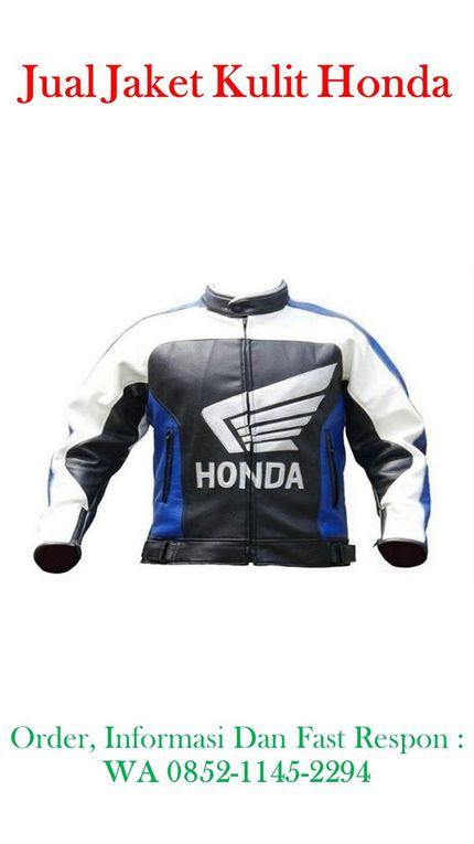 Toko Grosir Jual Jaket Kulit Racing Honda, Bahan Kulit Domba Asli Kualitas Super