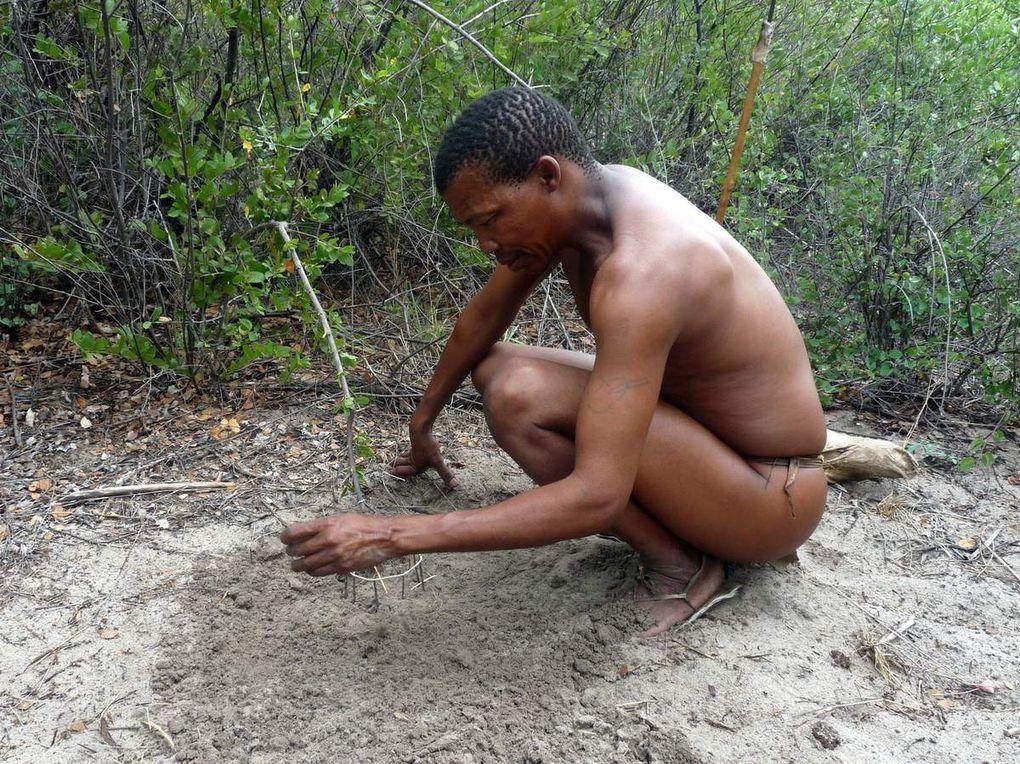 2015 - Une journée avec les bushmen de Namibie