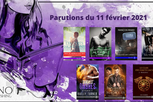 Parutions Juno Publishing du 11 février 2021 (MM)