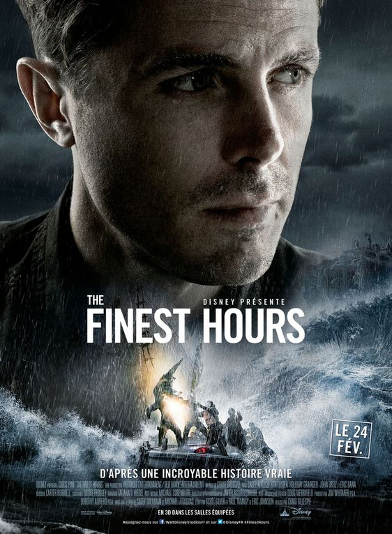 """""""THE FINEST HOURS"""", AFFICHES PERSONNAGES"""