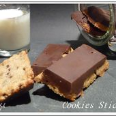Cookies sticks - Oh, la gourmande..